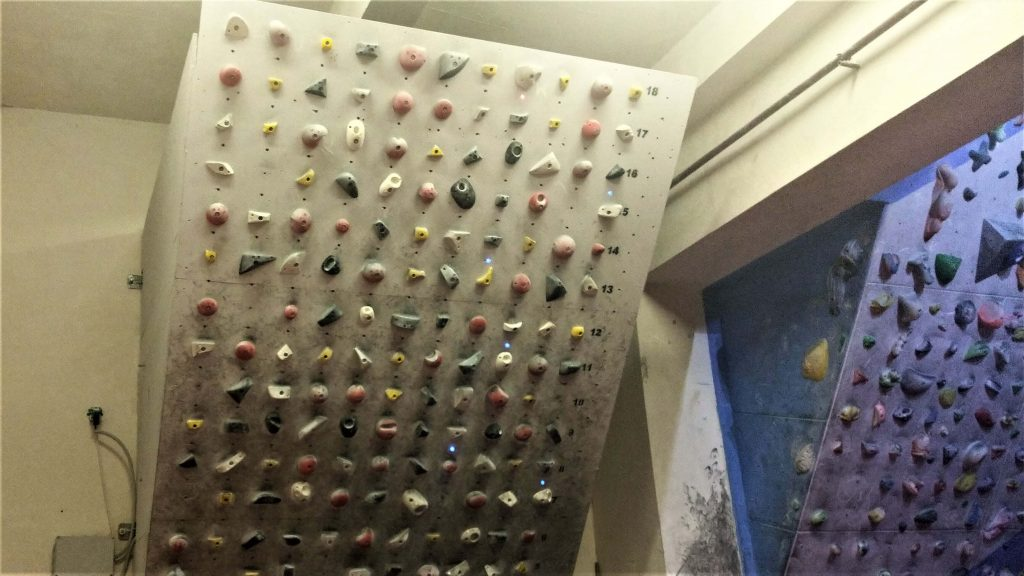 Moonboard bouldering system wall train hard climb harder